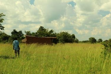 Pre-school in a field