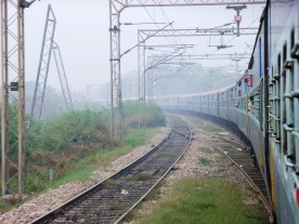 Long Indian Train